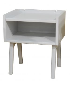 MATHY BY BOLS - Madavin Bedside Table Powder Grey
