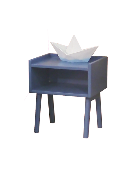 MATHY BY BOLS - Madavin Bedside Table Atlantic Blue