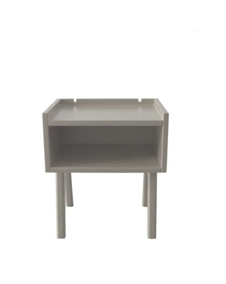 MATHY BY BOLS - Table de chevet Madavin Taupe