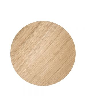FERM LIVING - Wire Basket top Large - Oiled Oak 60 cm