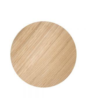 FERM LIVING - Wire Basket top Medium - Oiled Oak 50 cm