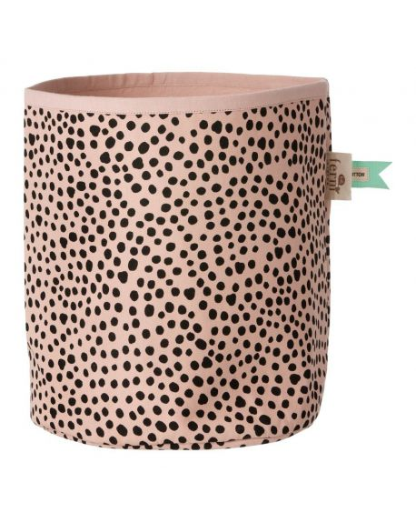 FERM LIVING - Panier de rangement Rose Billy - Medium