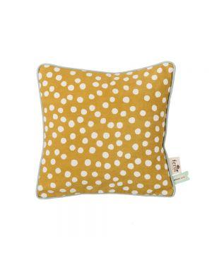 Ferm LIVING - DOTS Cushion - Curry