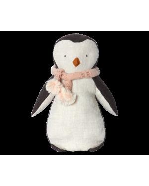 MAILEG - Pingouin fille écharpe rose