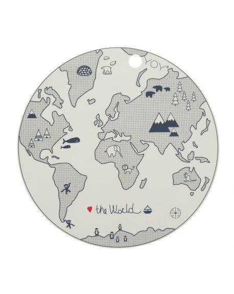 OYOY - Set de table Map monde