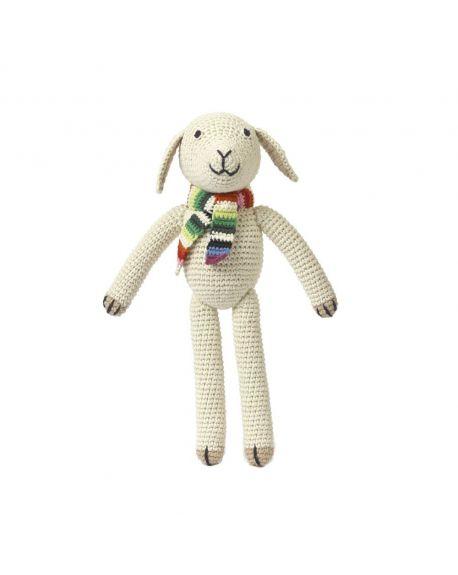 ANNE-CLAIRE PETIT-Peluche Mouton blanc