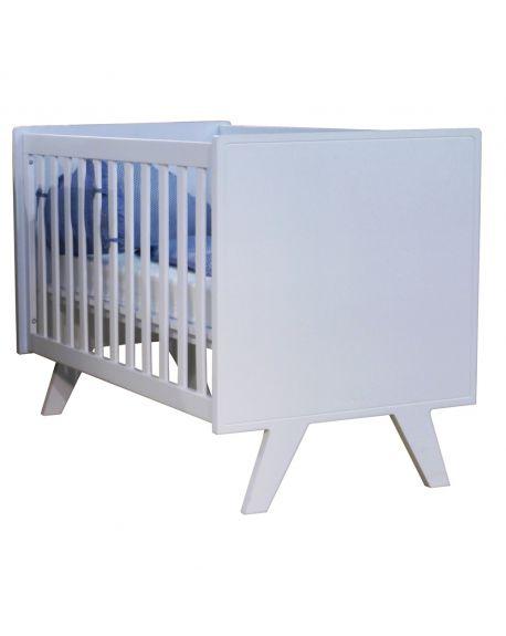 MATHY BY BOLS - Madavin Baby Bed 60 x 120cm White