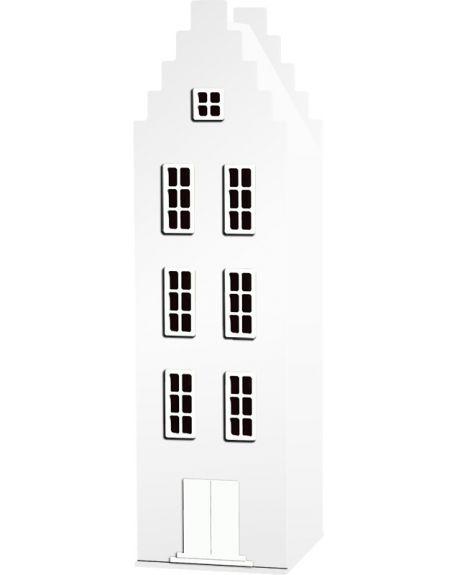 KAST VAN EEN HUIS - AMSTERDAM STEPS GABLE Design cabinet - H 198 x W 55 x D 55 cm