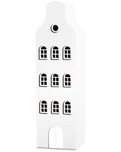 KAST VAN EEN HUIS - AMSTERDAM Bellgable Design cabinet - 198 x 55 x 55 cm