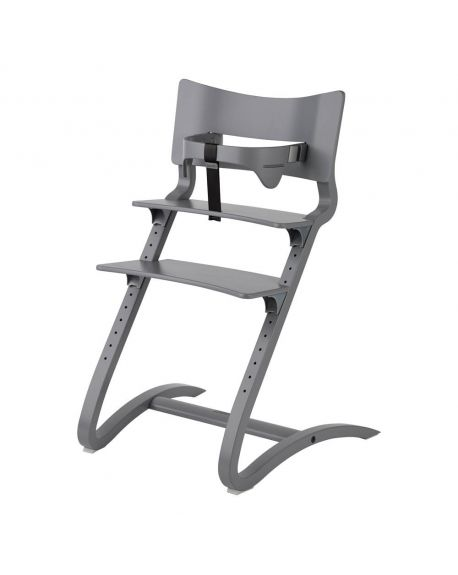 LEANDER - HIGH CHAIR design - From 6 months to adult age - White satin