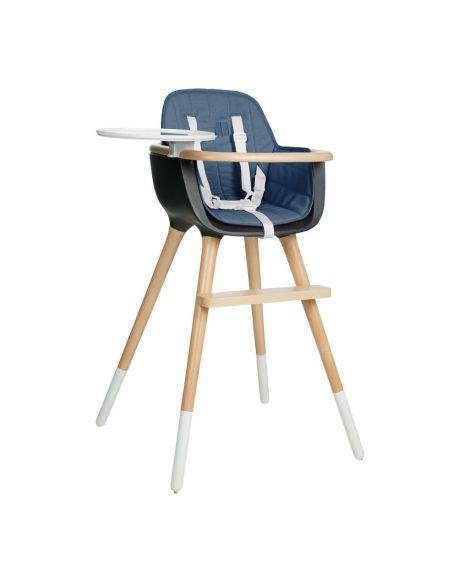 MICUNA-OVO Coussin pour chaise haute-Bleu