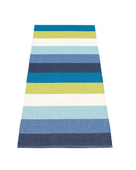 PAPPELINA - MOLLY BLUE - Design plastic rug - 4 sizes available