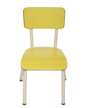LES GAMBETTES LITTLE SUZIE - School chair for kids - Soft yellow