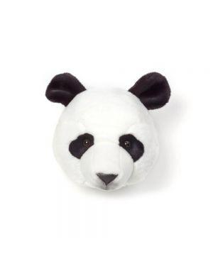 WILD & SOFT - Trophée en peluche - Tête de Panda