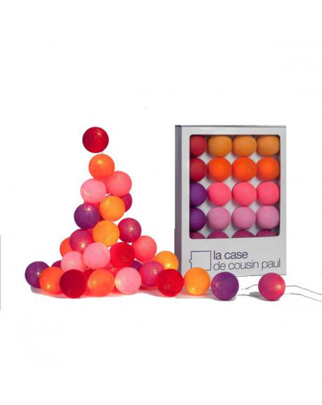 CASE DE COUSIN PAUL-JUNE JUEA Fancy Light/ Orange, red, pink & purple Flash