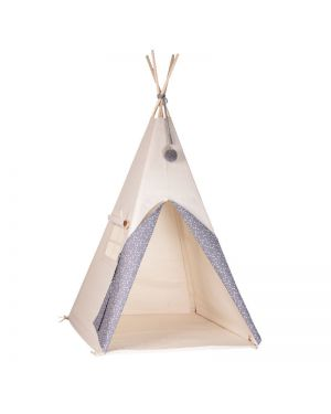 NUNUNU - TIPI - Gray with white stars