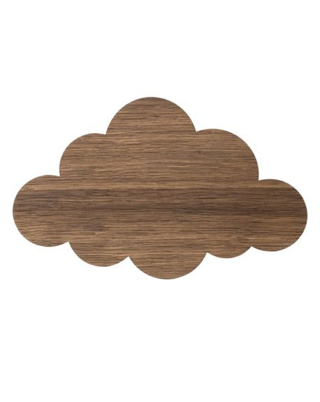 FERM LIVING - Cloud Lamp - Smoked Oak