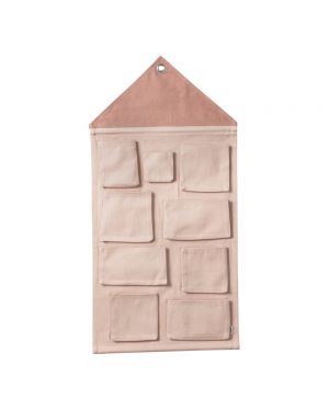 FERM LIVING - House wall storage - Pink