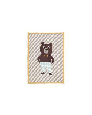 FERM LIVING - Bear Quilted blanket