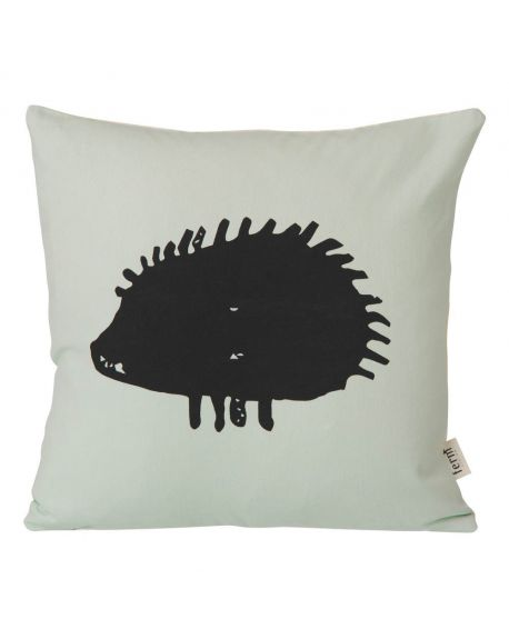 FERM LIVING - Hedgehog Cushion - Mint