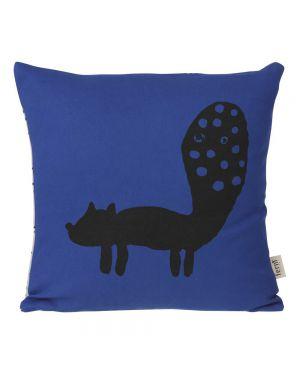 FERM LIVING - Fox Cushion - Blue