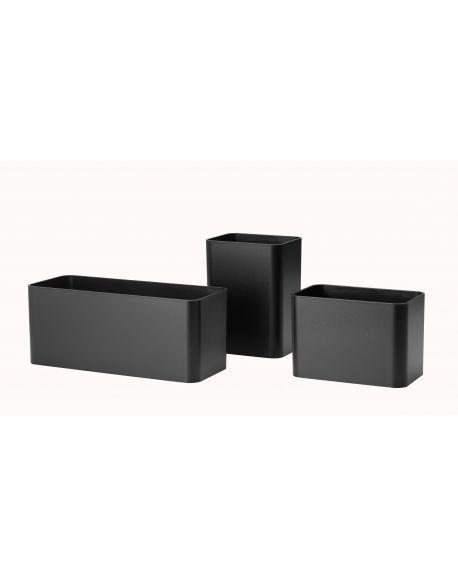 STRING - Storage - Set of 3 Black