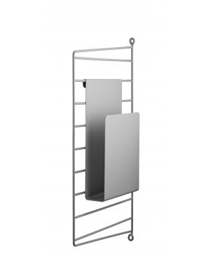 STRING - Storage - Magazine holder - Grey