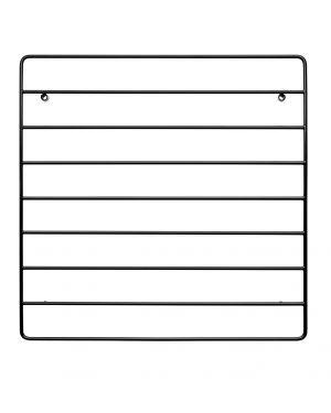 STRING - Grid for wall - Organizer - Black