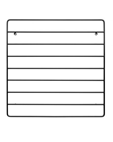 STRING - Grid for wall - Organizer - Black