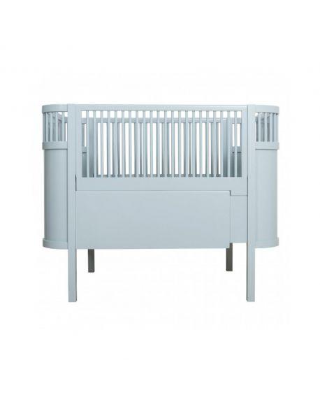 SEBRA - Baby and junior bed 0-7 years old - Cloud blue