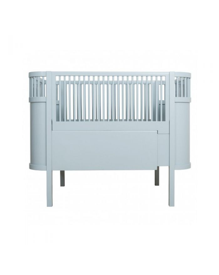 Awesome SEBRA Baby and junior bed 0 7 years old Cloud blue Loading zoom Fresh - Minimalist convertible bed Beautiful