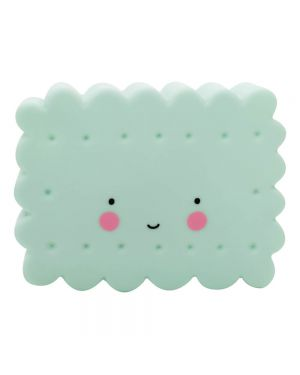 A Little Lovely Company - Mini veilleuse cookie LED - Mint