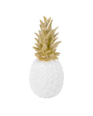 Goodnight Light - Lampe ananas blanche & dorée