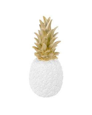 Goodnight Light - Pineapple Lamp - White Gold