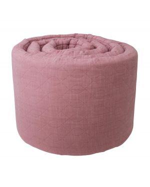 SEBRA-Tour de lit-vieux rose