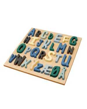 SEBRA - Wooden puzzle - boy