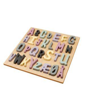 SEBRA - Wooden puzzle - girl