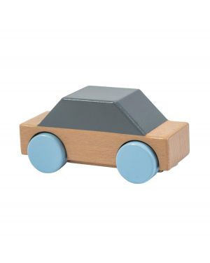SEBRA - Wooden Car - Grey