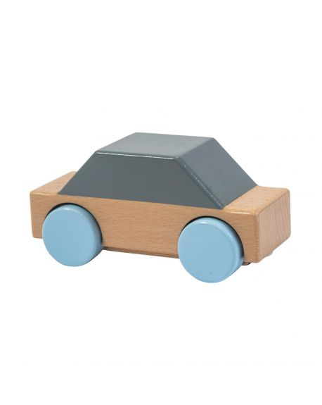 SEBRA - Wooden Car - Grey