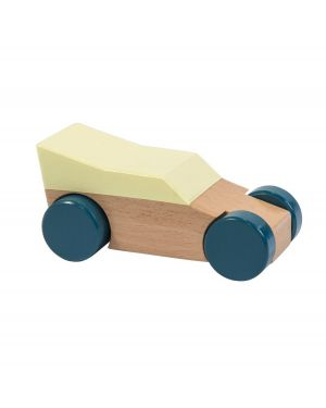 SEBRA - Wooden Race Car - Yellow