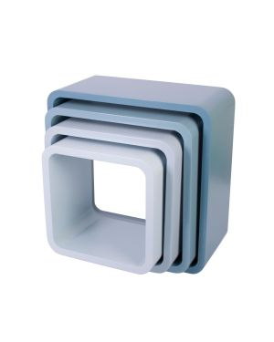 Sebra - storage units - square - matte - cloud blue