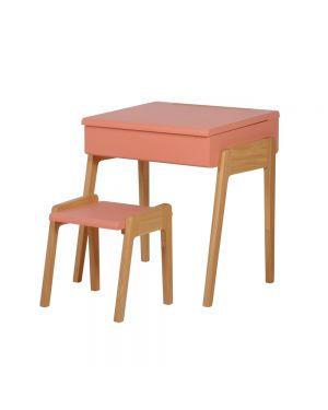 Jungle by jungle - Kid stool + desk - Pink