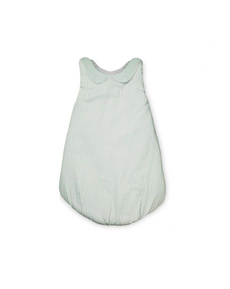 CAM CAM COPENHAGEN - Organic Coton Baby Sleeping Bag - Sashiko Mint