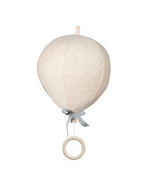 CAM CAM COPENHAGEN - Mobile musical montgolfière - Rose Pâle