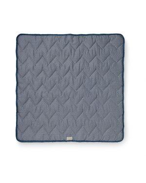 CAM CAM COPENHAGEN - Organic Cotton Baby Padded Blanket Sashiko - Blue