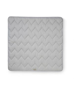 CAM CAM COPENHAGEN - Organic Cotton Baby Padded Blanket - Grey Wave