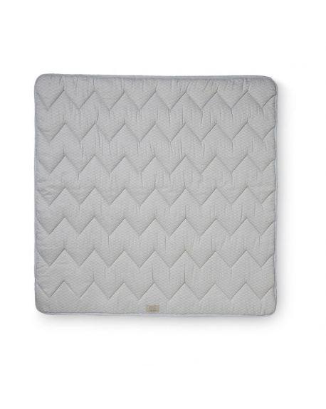 CAM CAM COPENHAGEN - Organic Cotton Baby Padded Blanket - Grey Wave