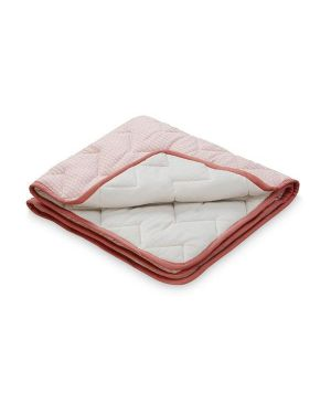 CAM CAM COPENHAGEN - Organic Cotton Baby Padded Blanket - Sashiko Blush