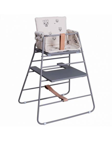 BUDTZBENDIX - Coussin pour chaise haute Tower Chair - Tigre par Audrey Jeanne