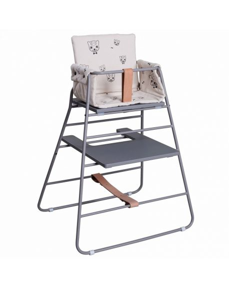 BUDTZBENDIX – Cushion for high chair Tower Chair – Tiger by Audrey Jeanne